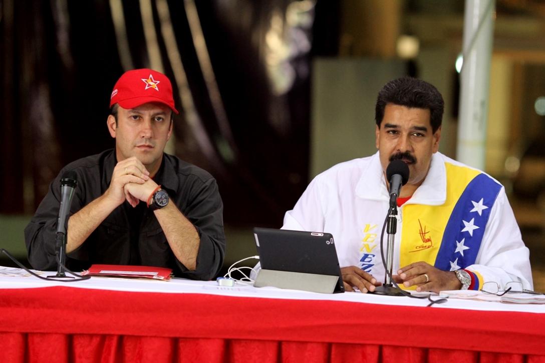 Nicolas-Maduro-Tareck-El-Aissami